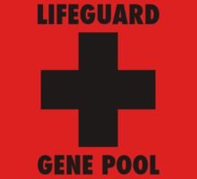 Gene Pool Lifeguard by Katerina Down