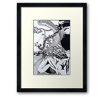 At the Beginning Framed Print