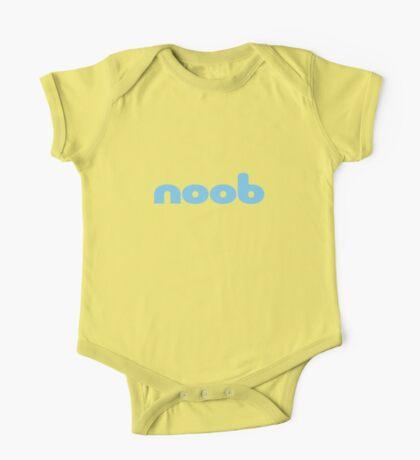 Computer Nerd - noob - Baby Boy Jumpsuit Onesie T-Shirt One Piece - Short Sleeve