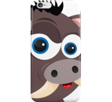 Cartoon Boar iPhone Case/Skin