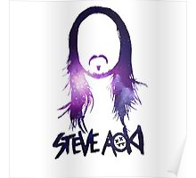 Steve Aoki in the space Poster