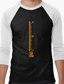 Bracket before shoot Men's Baseball ¾ T-Shirt