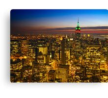 View From 30 Rock Canvas Print