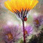 Ladybug Umbrella by CarolM