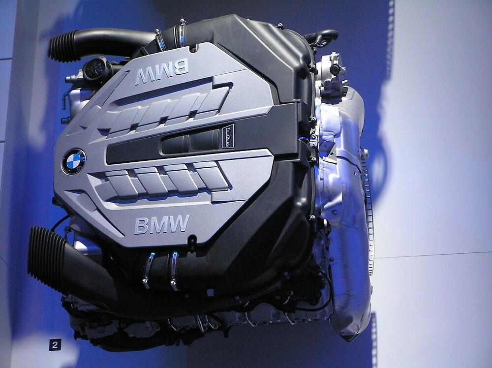NAIAS 2008 - BMW Twin Turbo M5 Engine by nvedamuthu