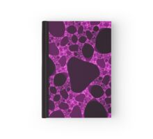Pink over one cube Hardcover Journal