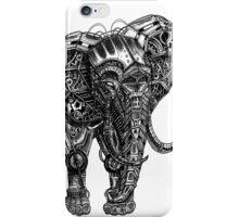 Mechanical Elephant steampunk animal vintage retro art iPhone Case/Skin