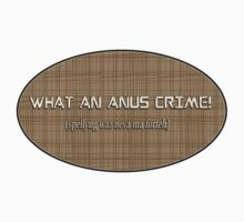 what a heinous crime! - sticker by vampvamp