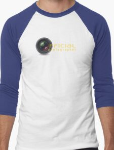 Official photographer Men's Baseball ¾ T-Shirt