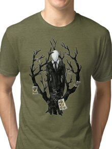Slenderman III Tri-blend T-Shirt