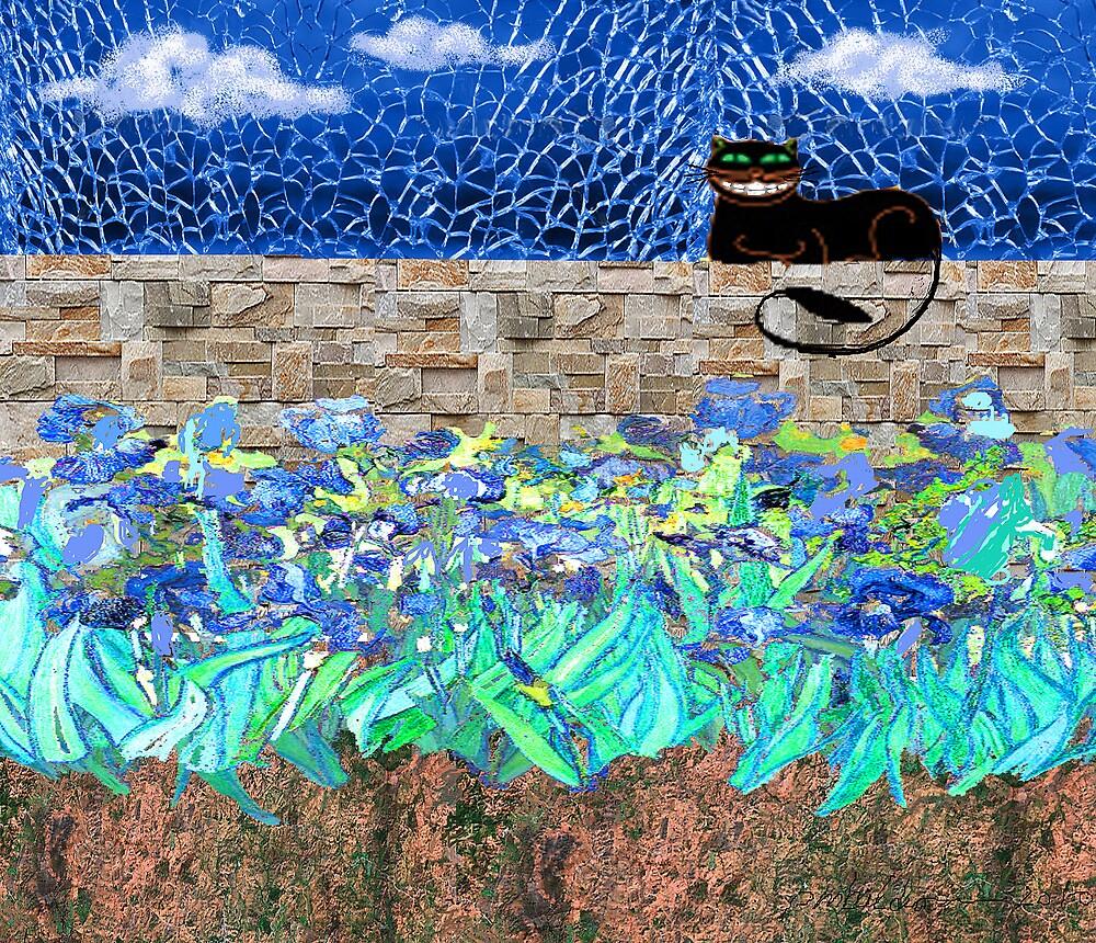 """Garden Cat""  by Patrice Baldwin"