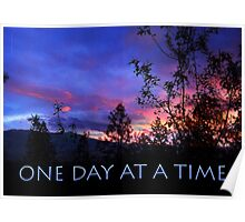 One Day at a Time Spring Sunrise Poster