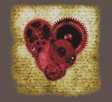 Vintage Steampunk Heart Kids Clothes