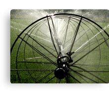 Sprinklers  - Light Canvas Print