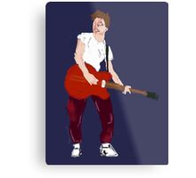 Marty Mcfly - Back to the Future Guitar legend  Metal Print