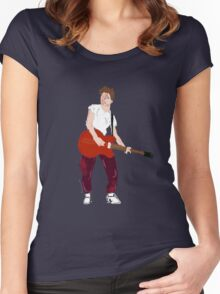 Marty Mcfly - Back to the Future Guitar legend  Women's Fitted Scoop T-Shirt