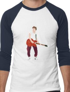 Marty Mcfly - Back to the Future Guitar legend  Men's Baseball ¾ T-Shirt