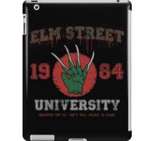 Elm St. University iPad Case/Skin