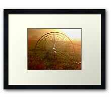 Sprinklers - Sunrise Framed Print