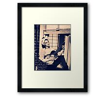 Moon River - Breakfast at Tiffany's Framed Print