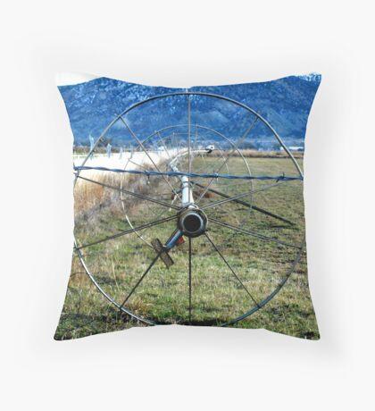 Sprinklers - Blue Mountains  Throw Pillow