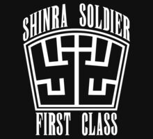 Final Fantasy VII - Shinra Soldier First Class T-Shirt