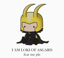 I am Loki of Asgard by Caroline Perron-Héroux