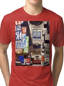 Melbourne Street Signs Tri-blend T-Shirt