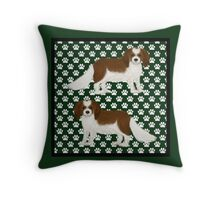 King Charles Cavalier Spaniel Throw Pillow