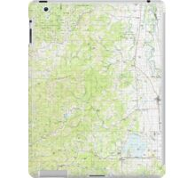 USGS Topo Map Oregon Eugene 283075 1980 100000 iPad Case/Skin