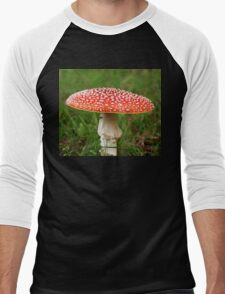 Solitary Fly Agaric Men's Baseball ¾ T-Shirt