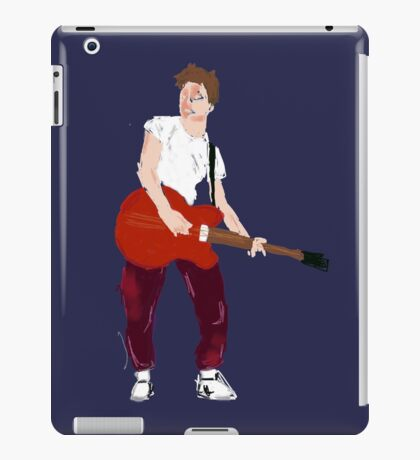Marty Mcfly - Back to the Future Guitar legend  iPad Case/Skin