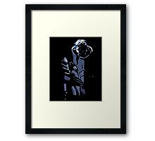 Mass Effect - Garrus Vakarian Black Framed Print