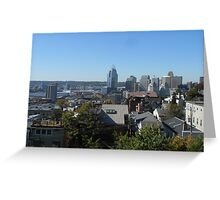 Cincinnati City View Greeting Card