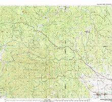 USGS Topo Map Oregon Nehalem River 283106 1979 100000 by wetdryvac