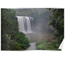 Dangar Falls 28-12-10. Poster