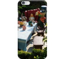 Alice and The Mad Hatter's Tea Party iPhone Case/Skin