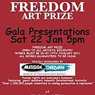 amnesty international freedom art prize by TAPGallery