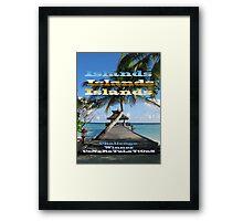 ISLANDS - Challenge Winner Banner Framed Print