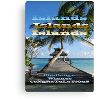 ISLANDS - Challenge Winner Banner Canvas Print