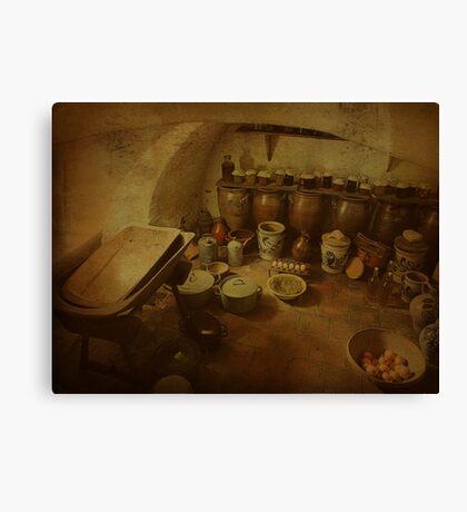 Stock cellar Canvas Print