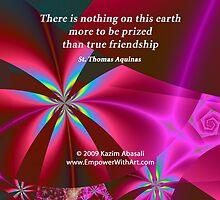 True Friendship by Kazim Abasali