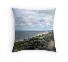 Dunes near Cullens Beach, Western Australia Throw Pillow