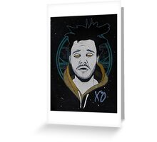 The Weeknd Kiss Land Greeting Card