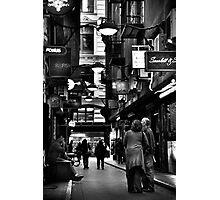 The Tourists Photographic Print