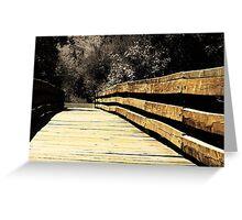 Oakhurst Bridge Greeting Card