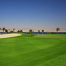 Taba Heights Golf Resort Hole 17 Par 4 by Helen Shippey