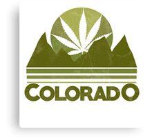 Colorado Marijuana humor Canvas Print