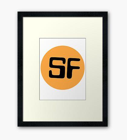Library Geek - Sci Fi  Framed Print