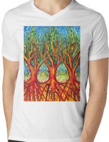 Together Mens V-Neck T-Shirt